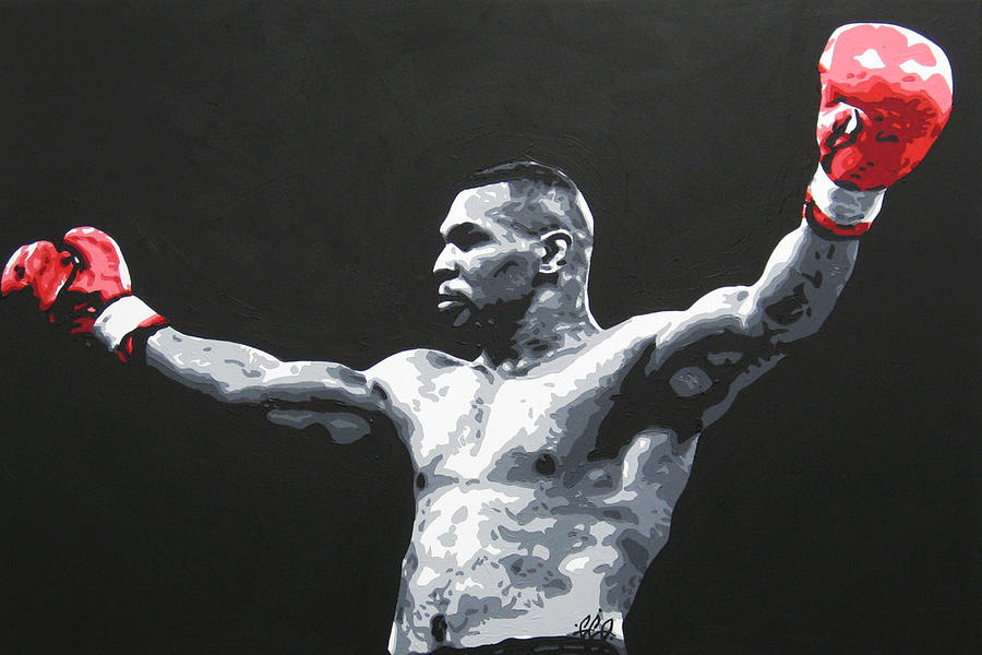 Mike Tyson 1 is a painting by Geo Thomson which was uploaded on May ...