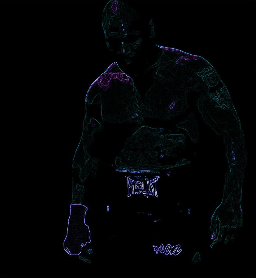 Mike Tyson Digital Art
