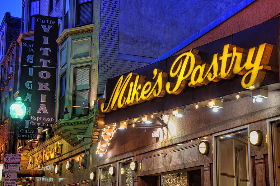 Mikes Pastry Shop - Boston Photograph  - Mikes Pastry Shop - Boston Fine Art Print