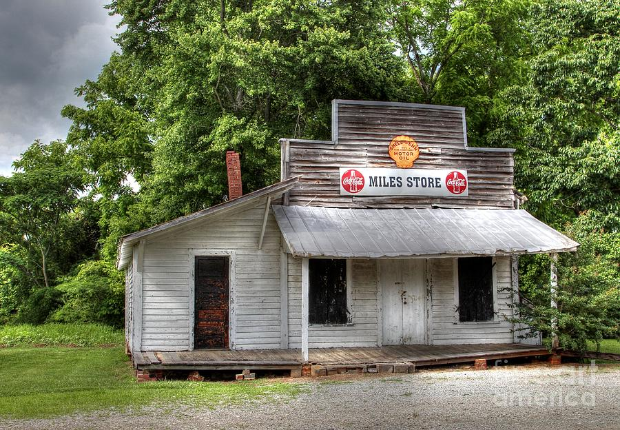 Miles Country Store Photograph  - Miles Country Store Fine Art Print