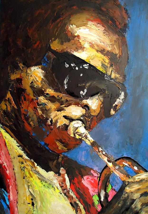 Miles Davis Painting  - Miles Davis Fine Art Print