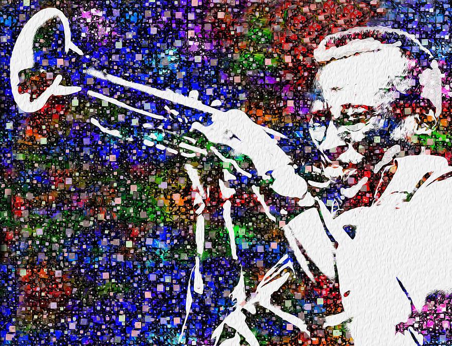 Miles Painting - Miles Davis by Jack Zulli
