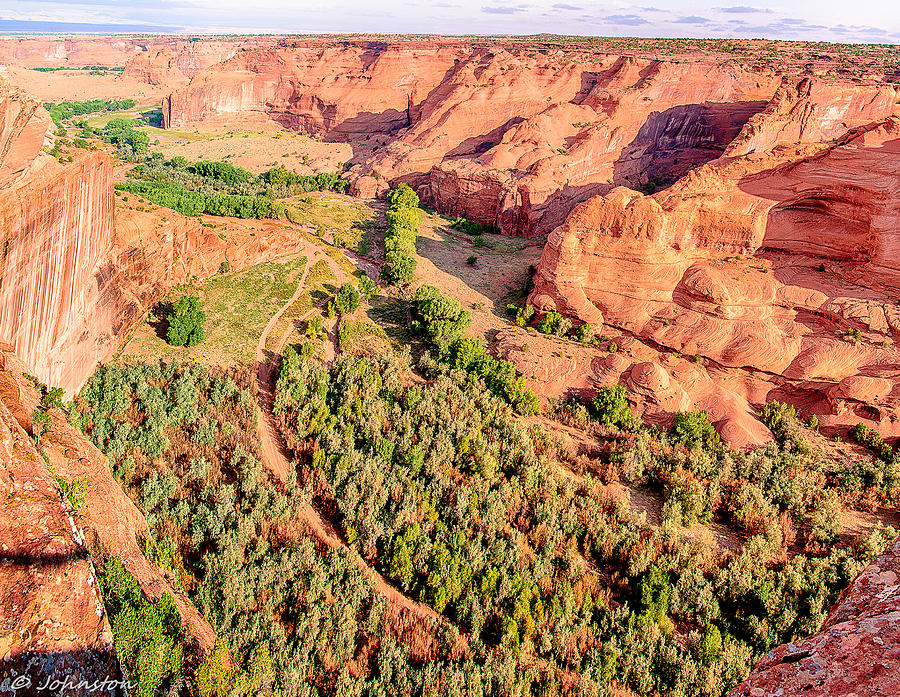 Miles To Go In Canyon De Chelly Photograph