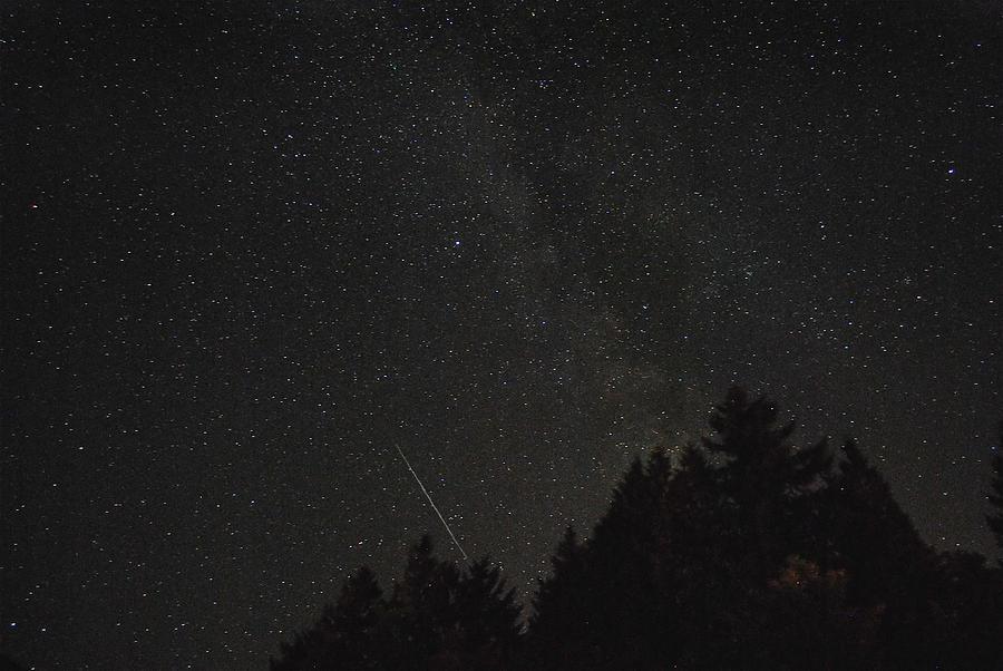 Milky Way Meteor Photograph