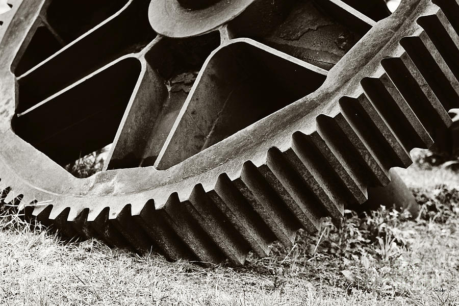 Mill Gear Photograph  - Mill Gear Fine Art Print