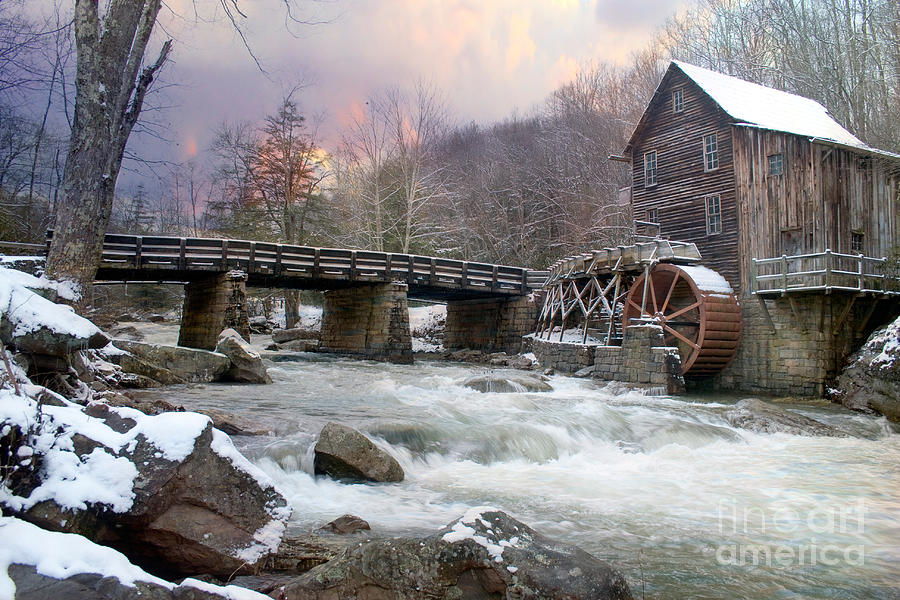 Mill Morning Photograph  - Mill Morning Fine Art Print
