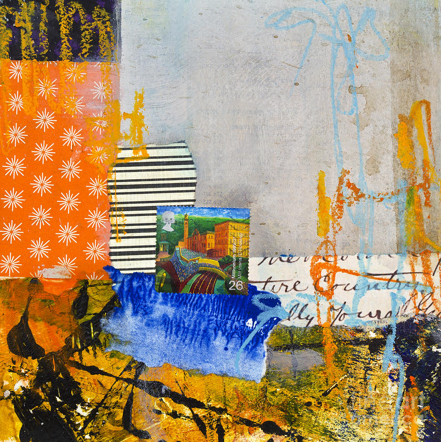 Mill Town Mixed Media