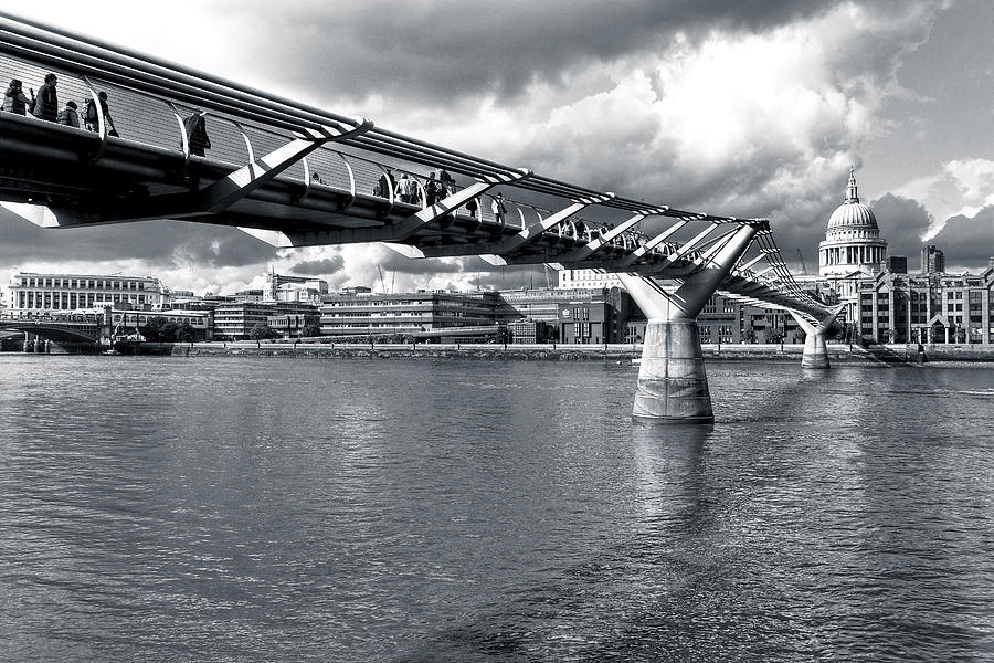 Millennium Foot Bridge - London Photograph