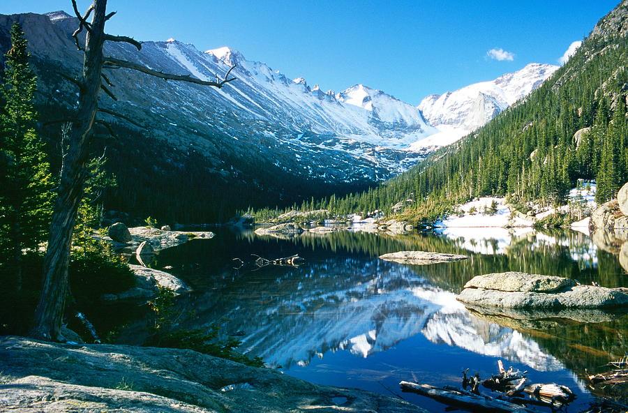 Mills Lake Photograph