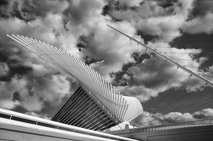 Milwaukee Art Center Photograph - Milwaukee Art Center 2 by Jack Zulli