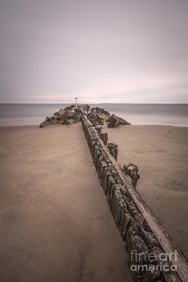 Brighton Beach Photograph - Mind Excursion by Evelina Kremsdorf