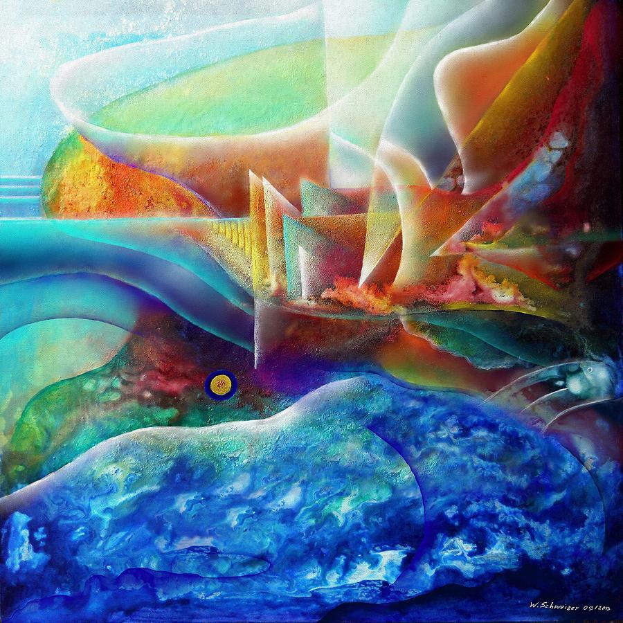 Mindscape No.7 - The Shore Painting