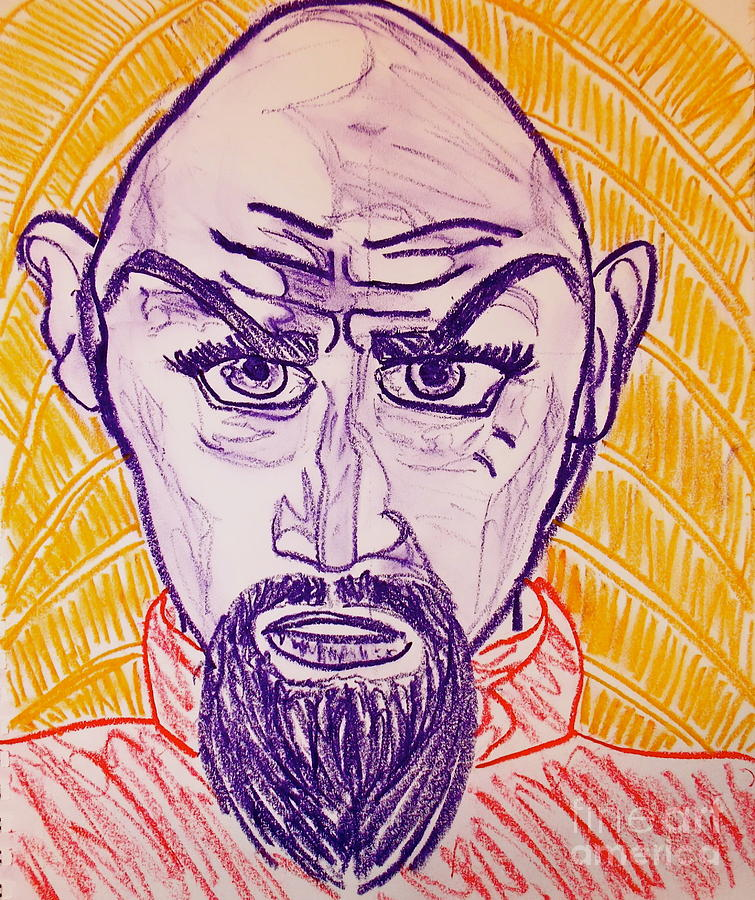 Ming The Merciless Pastel  - Ming The Merciless Fine Art Print