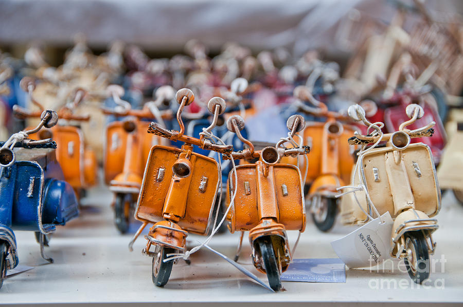 Mini Scooters Photograph  - Mini Scooters Fine Art Print