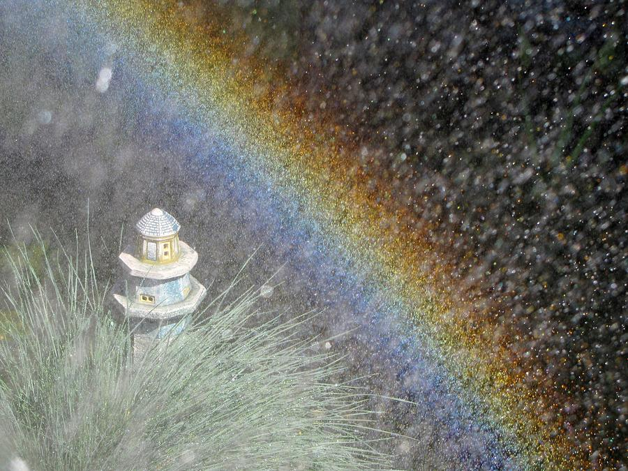 Miniature Rainbow Photograph