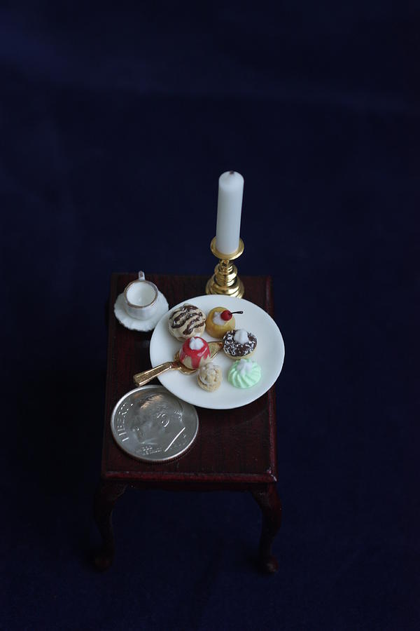 Cupcakes Photograph - Miniatures O O A K by David Bearden