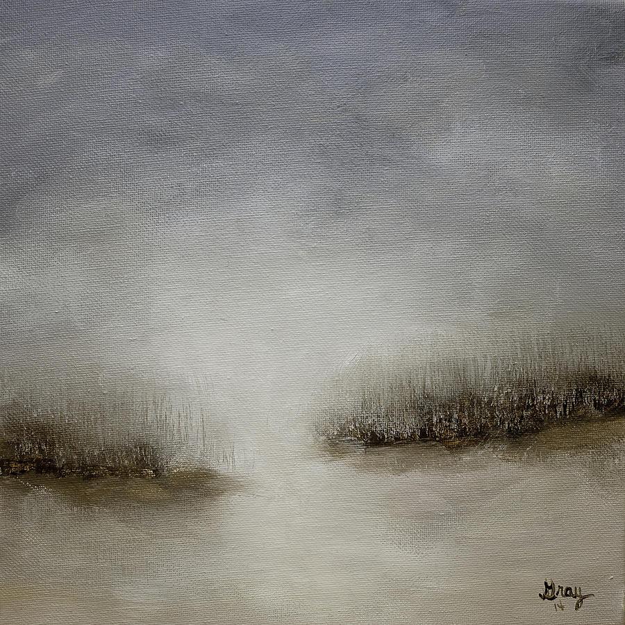 Minimalist abstract landscape original painting painting for Minimal art landscape