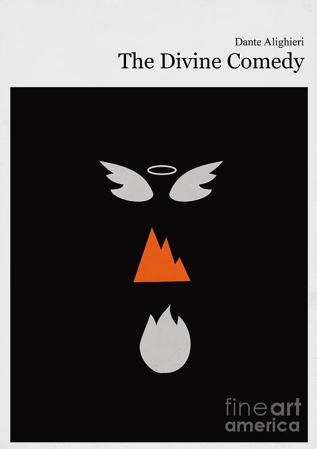 Minimalist Ya Book Covers : Minimalist book cover the divine comedy by budi satria kwan