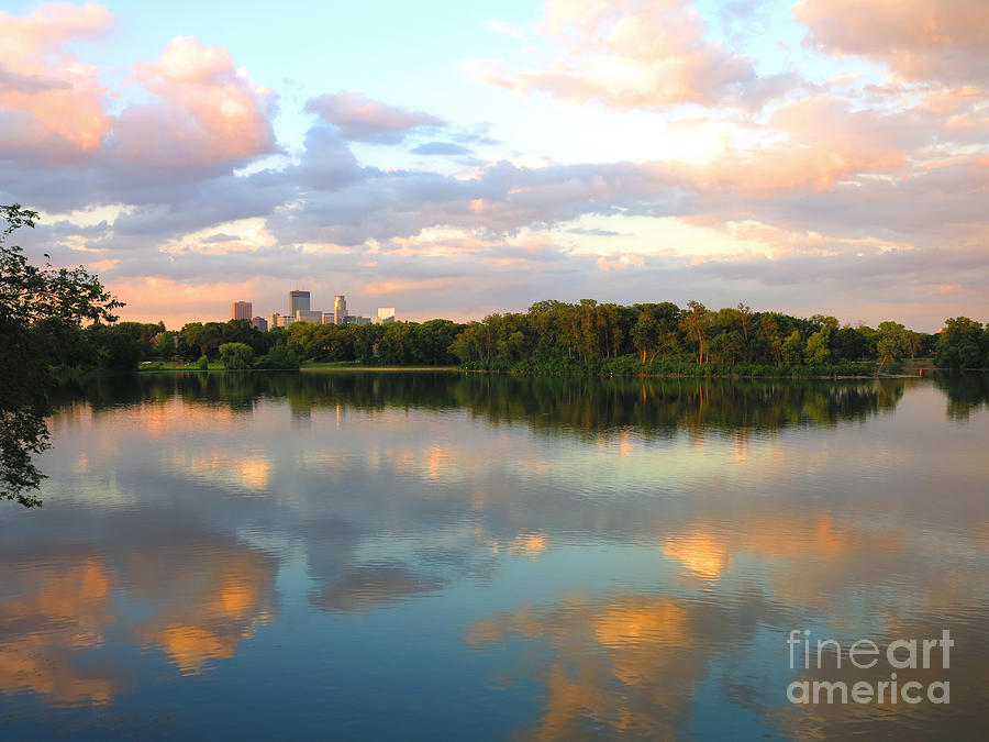 Minneapolis Lakes Photograph  - Minneapolis Lakes Fine Art Print