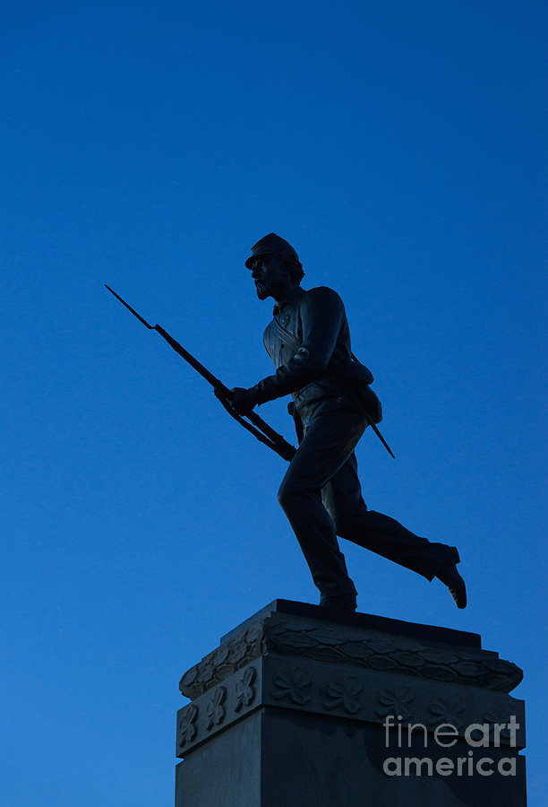 Minnesota Soldier Monument At Gettysburg Photograph