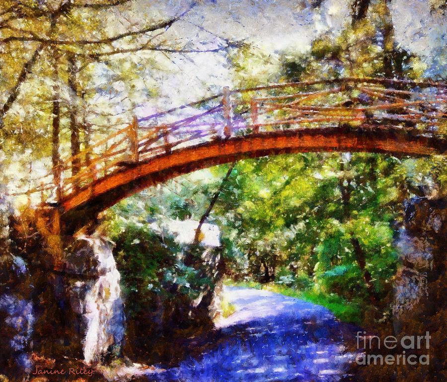 Minnewaska Wooden Bridge Photograph