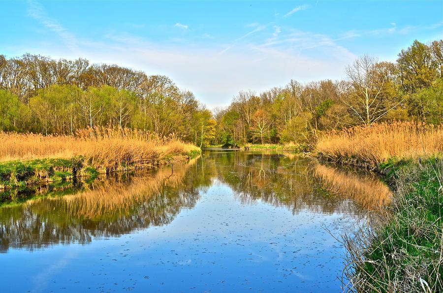 Mirror Canal Photograph