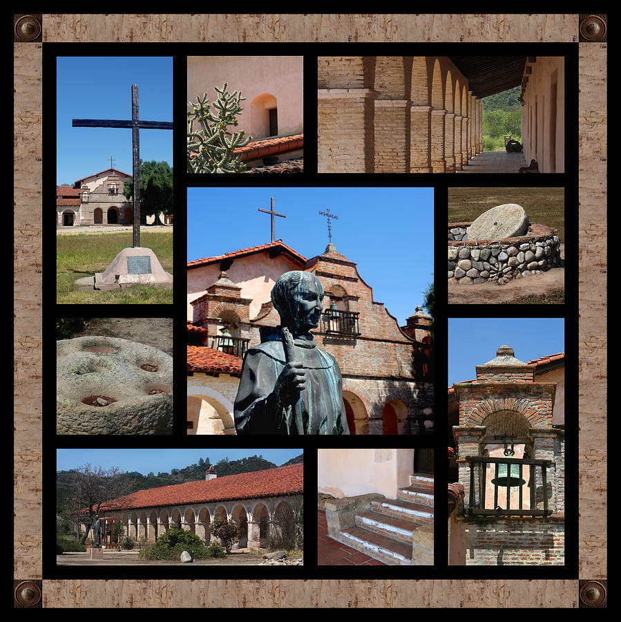 Mission San Antonio Photograph
