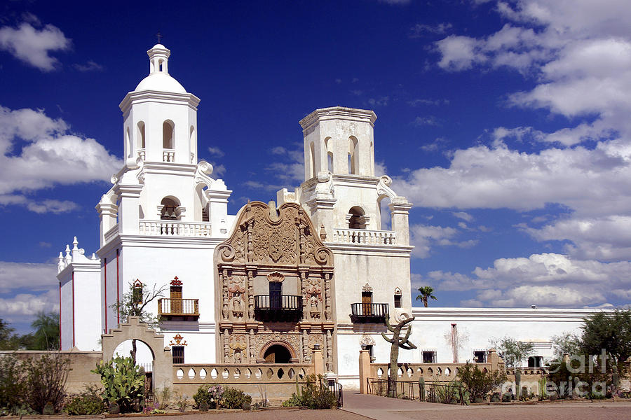 Mission San Xavier Photograph by Douglas Taylor