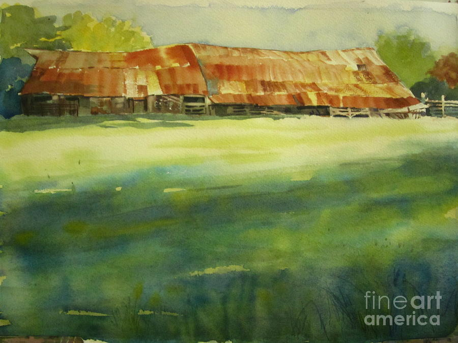 Mississippi Barn Painting