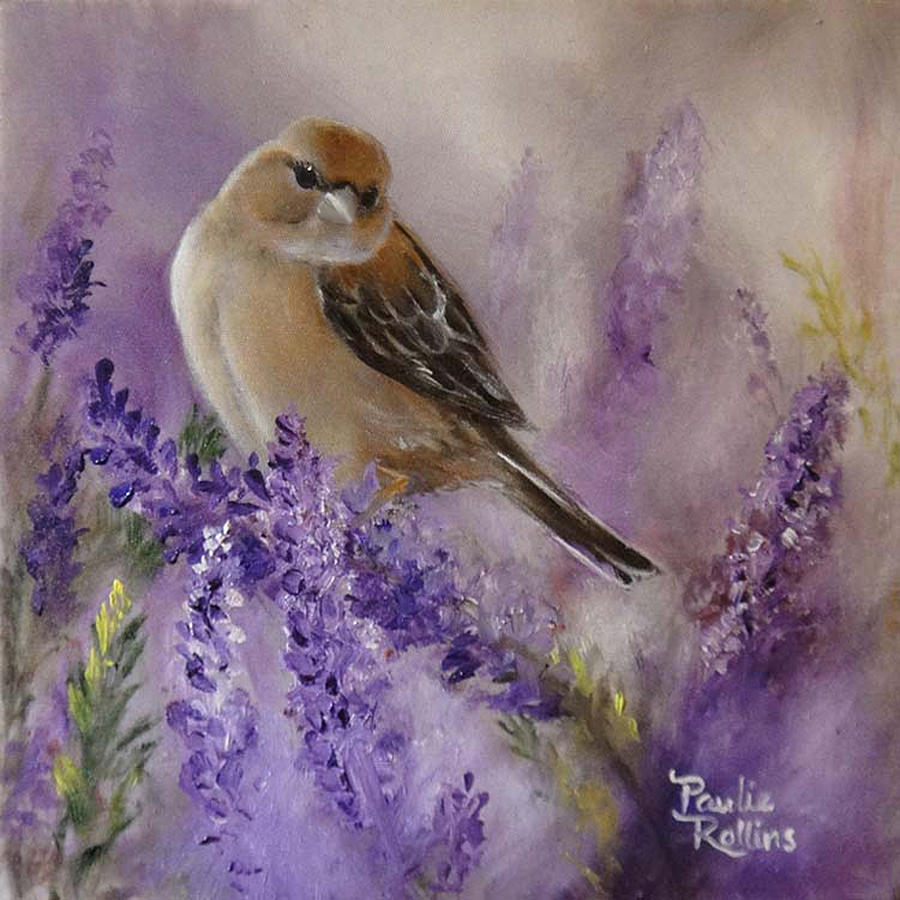 lavender painting - photo #9