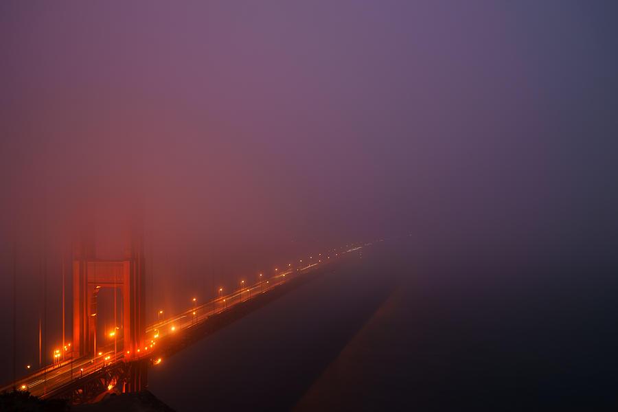 California Photograph - Misty Golden Gate  by Francesco Emanuele Carucci