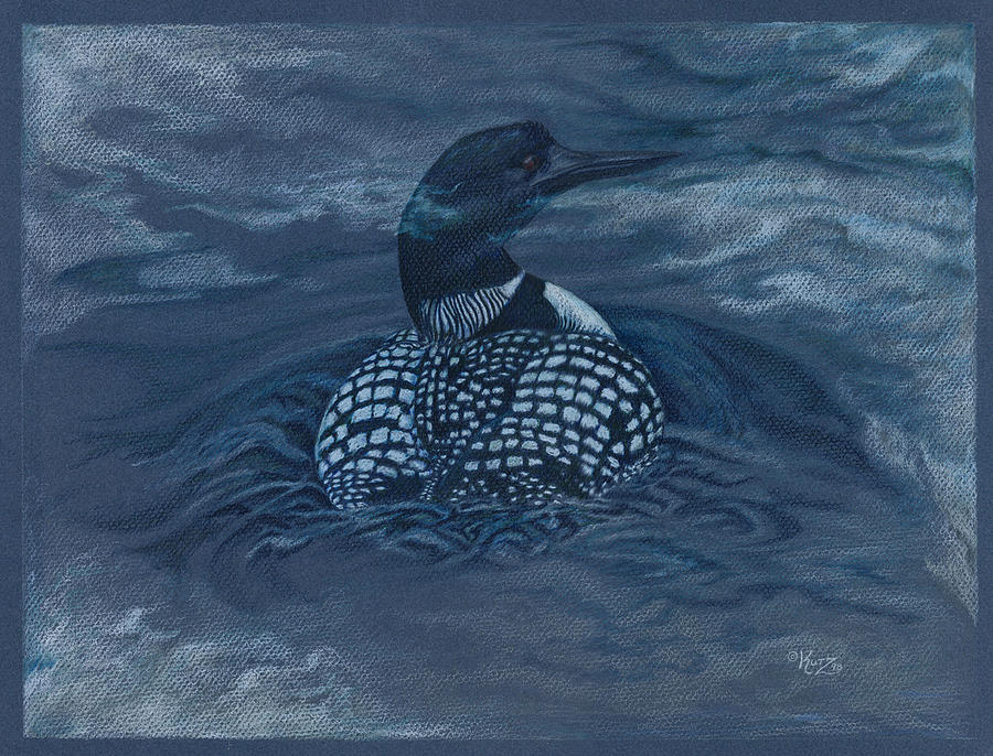 Loon painting - photo#24
