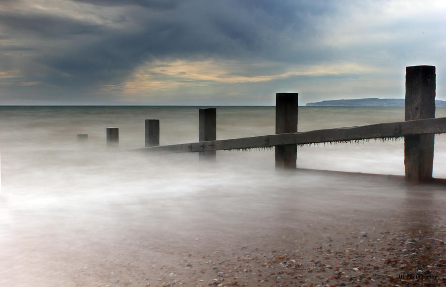 Misty Seascape Photograph