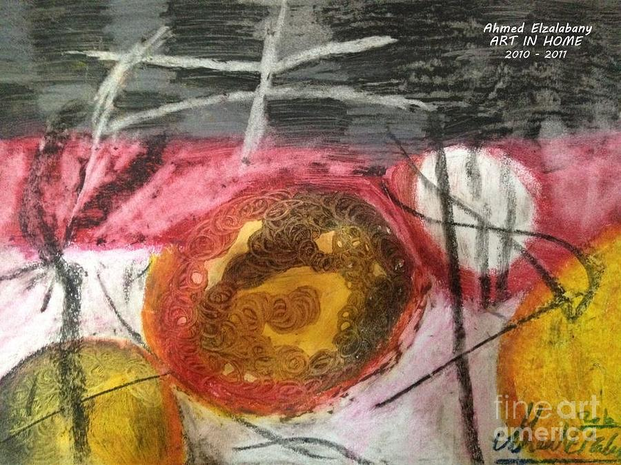 Drawing By Ahmed Elzalabany ( Art In Home Studio ) .... Pastel - Mixed Colors  by Ahmed  Elzalabany