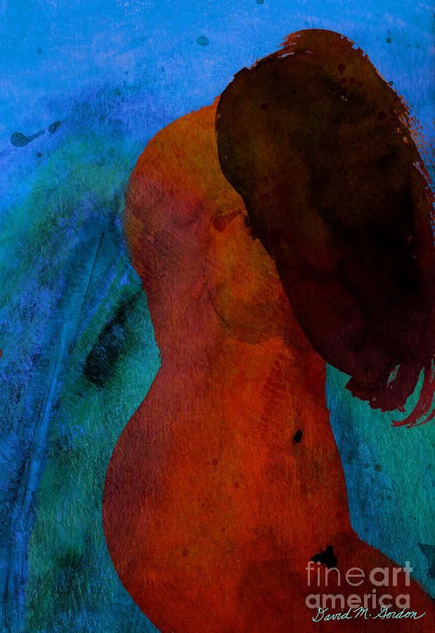 Mixed Media Figure Digital Art