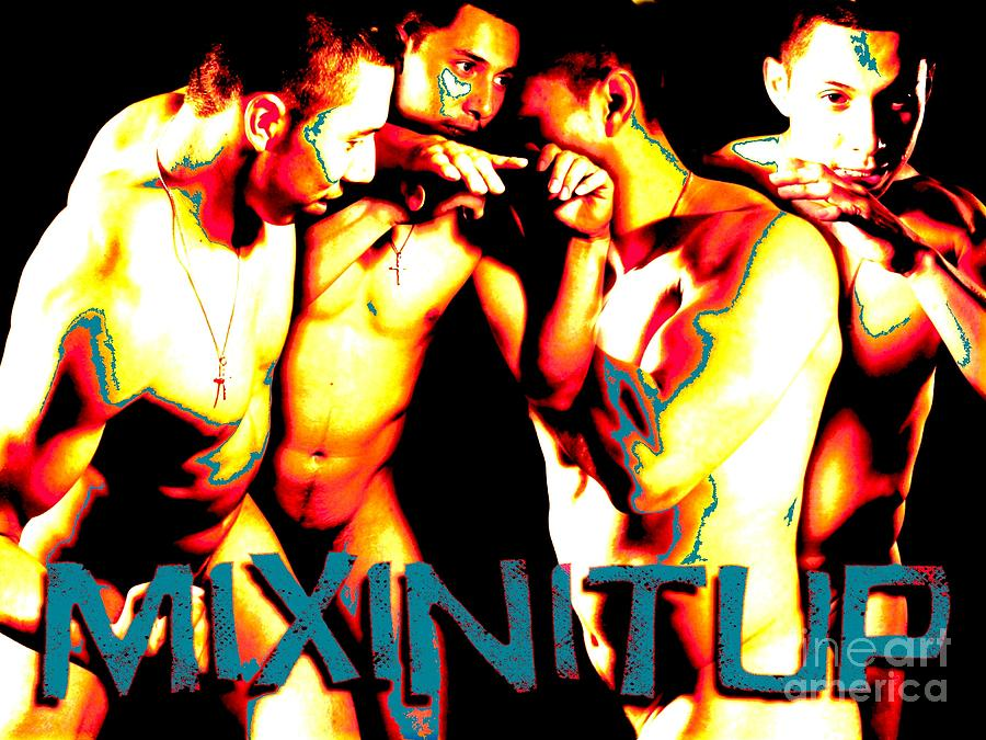 Mixin It Up Digital Art