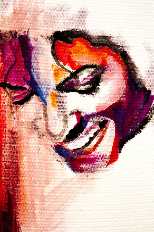 Mj Impression Painting  - Mj Impression Fine Art Print