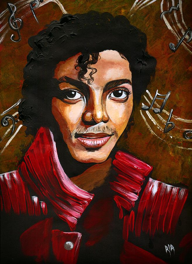 MJ Drawing  - MJ Fine Art Print