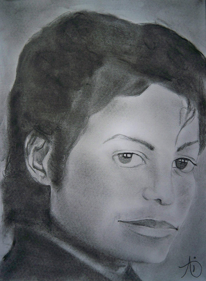 Mj The King Painting