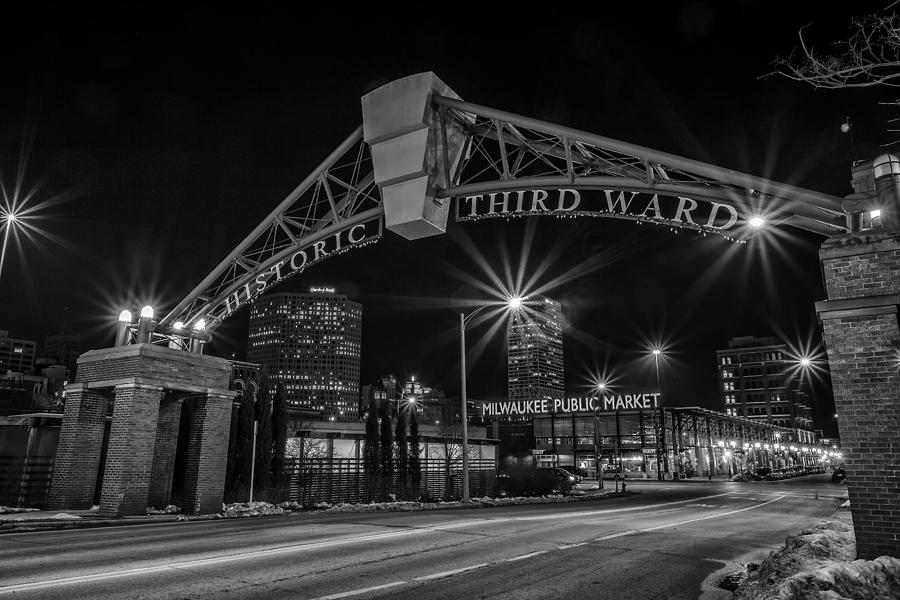 Www.cjschmit.com Photograph - Mke Third Ward by CJ Schmit