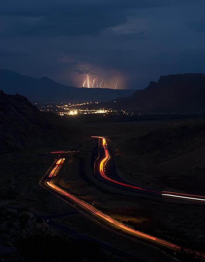 Moab Storm Photograph