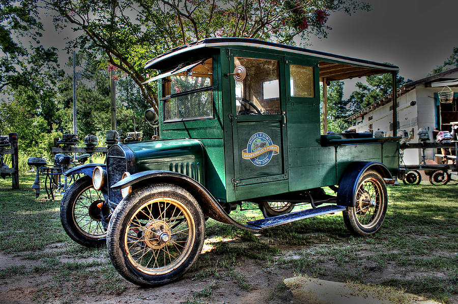 Model T Truck In Bon Secour Al Photograph