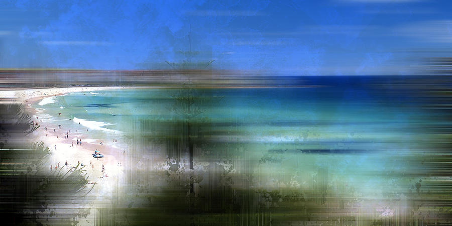 Modern-art Bondi Beach Photograph