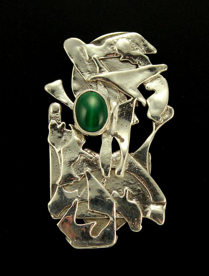 Magnetic Jewelry - Modern Art by Laura Wilson