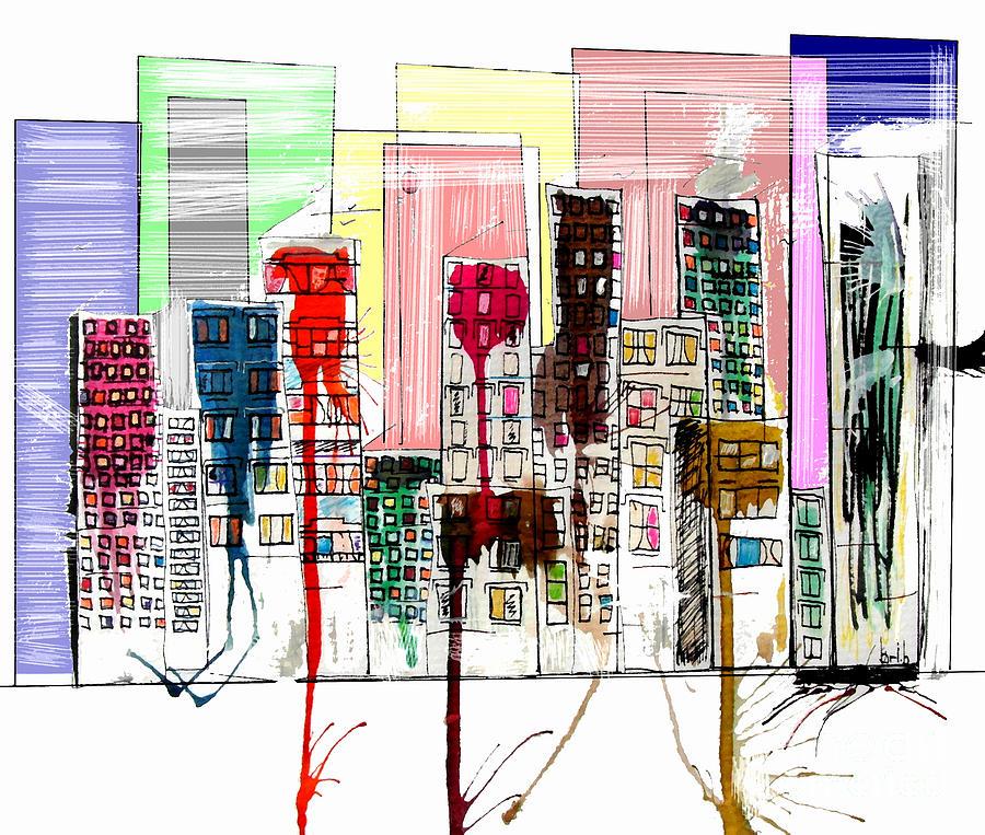 Modern Avenue Painting