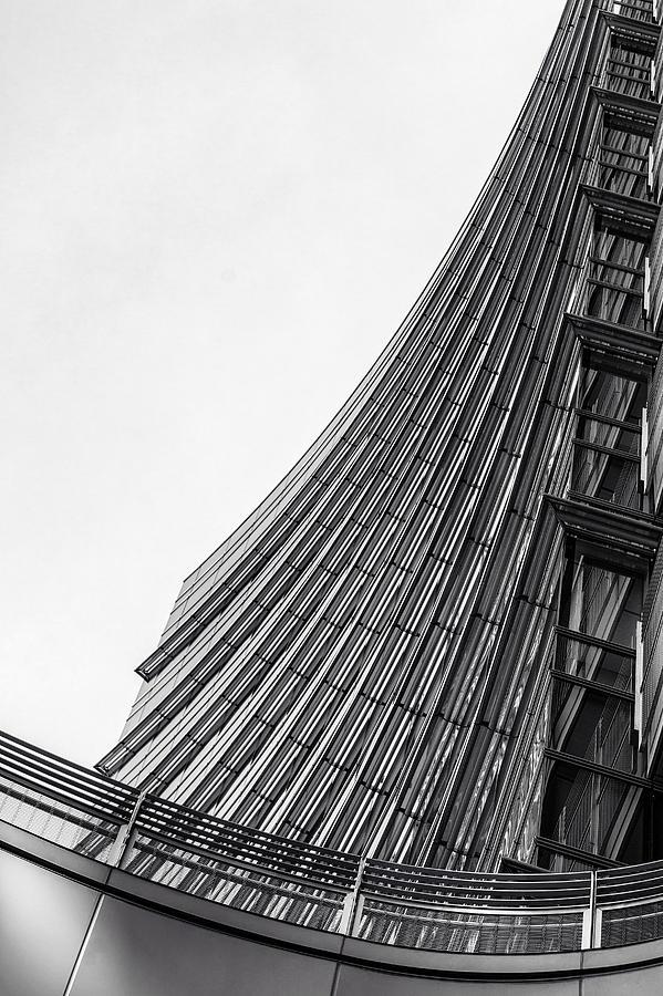Milan Photograph - Modern Curves by Alfio Finocchiaro