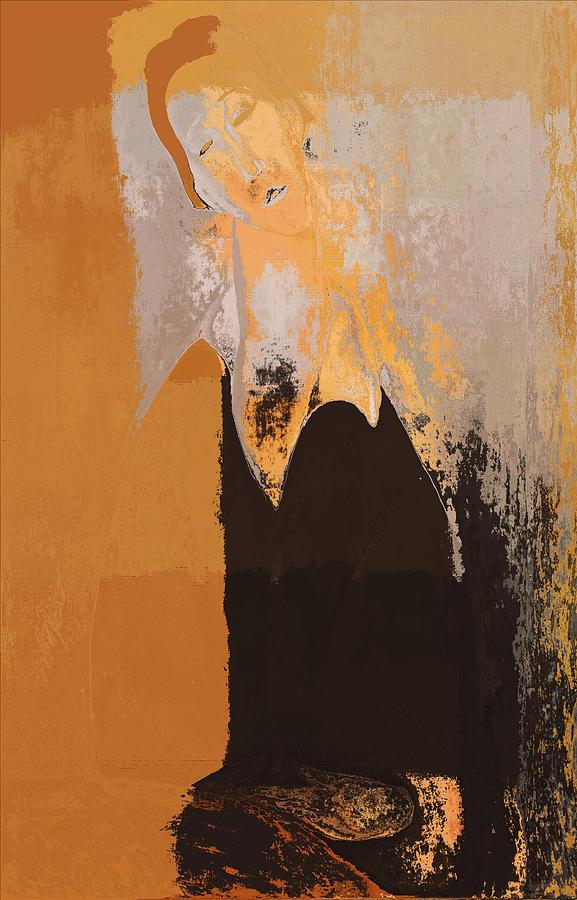 Modern From Classic Art Portrait - 01 Digital Art