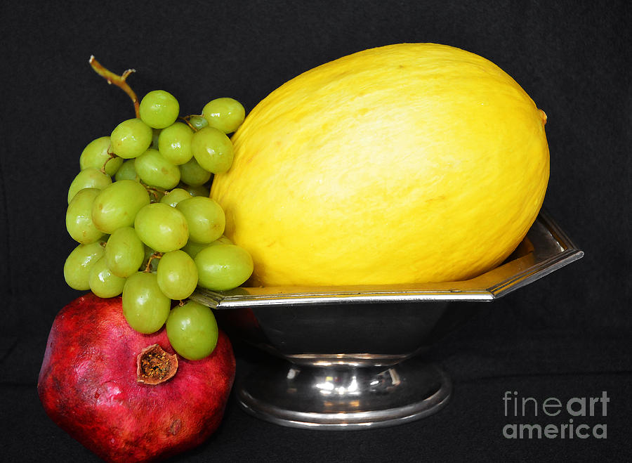 Modern Fruit Bowl Still Life Photograph