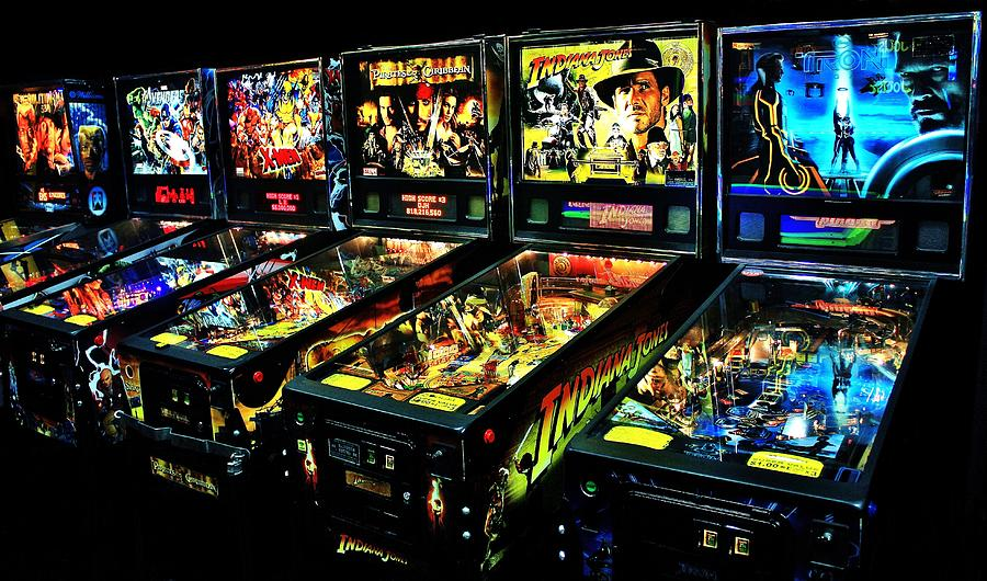 Pinball Photograph - Modern Machines by Benjamin Yeager