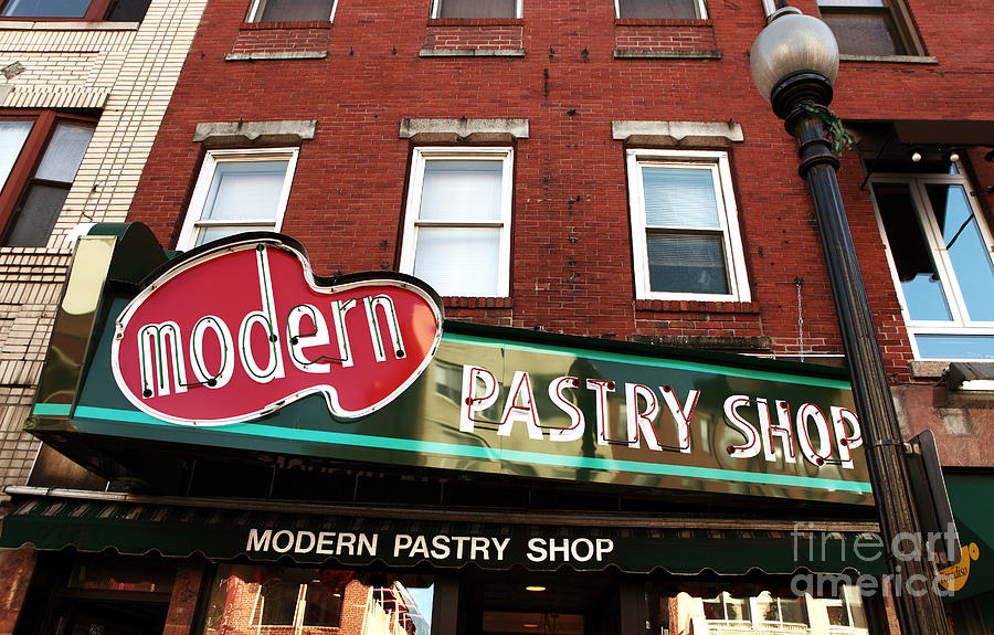 Modern Pastry Shop Photograph